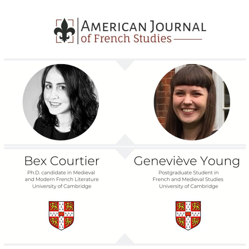Bex and Geneviève - Cambridge