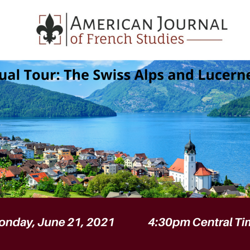 Virtual tour of Swiss Alps and Lucerne