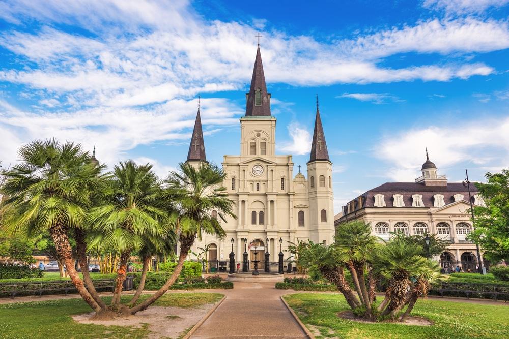 La beauté de la Louisiane